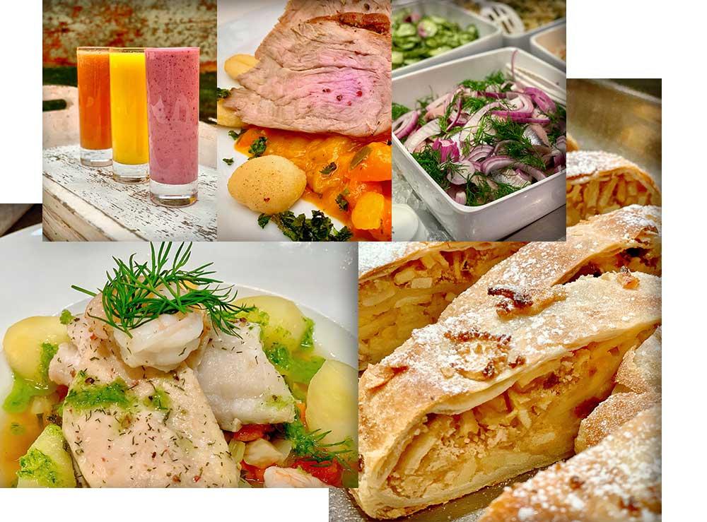 Stadtküche Speisenauswahl